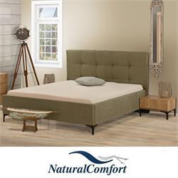 מיטה זוגית מרופדתמבד או דמוי עור דגם רודוס