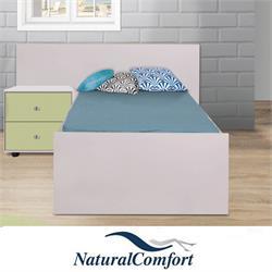 מיטת ילדים עם מזרון ושידת לילה תואמת דגם נועם