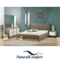 חדר שינה קומפלט מרופד דגם סאן מישל