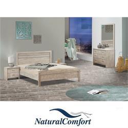 חדר שינה זוגי קומפלט בעיצוב מיוחד דגם סיוון