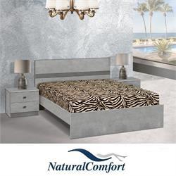 מיטה זוגית בעיצוב מיוחד דגם בריסל