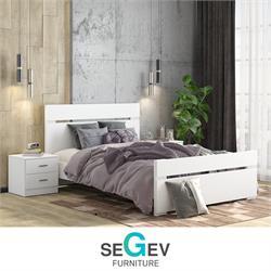 חדר שינה זוגי קומפלט דגםשירן שגב עיצובים
