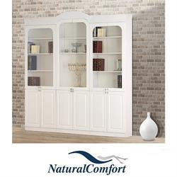 ספריית קודש 6 דלתות ברוחב 2.4 מטר דגם אריאל