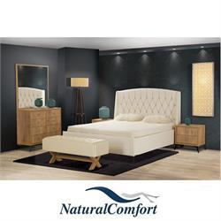 חדר שינה קומפלט מרופד ויוקרתי דגם מיקונוס