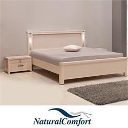 מיטה זוגית כולל תאורה