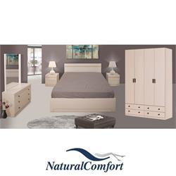 סט חדר שינה קומפלט וארון בגדים במחיר מיוחד דגם נסיכה