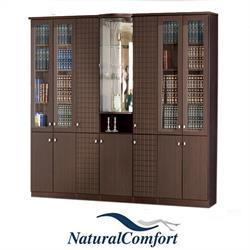 ספריית קודש 6 דלתות מפוארת ברוחב 3 מטר דגם נחשון