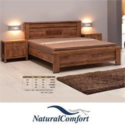 חדר שינה זוגי קומפלט הכולל מיטה, 2 שידות, טואלט ומראה