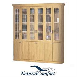 ספריית קודש 6 דלתות מפוארת ברוחב 2.4 מטר דגם מלך