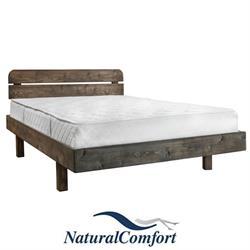 מיטה וחצי מעץ אורן מלא מעוצבת