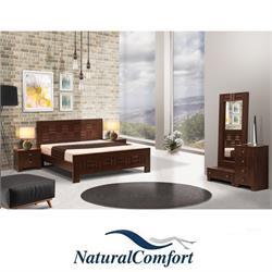 חדר שינה זוגי קומפלט בעיצוב מרהיב