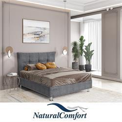 מיטה וחצי מעץ מלא כולל מזרון  דגם משיכות