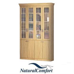 ספריית קודש4 דלתות מפוארת עם קרניזדגם מלך
