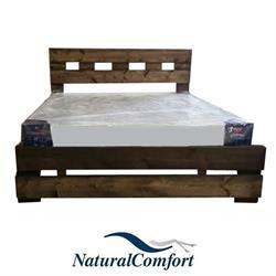מיטה וחצי מעץ אורן מלא