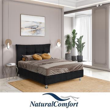 מיטה זוגית מעץ מלא כולל מזרון   דגם משיכות